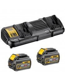 Зарядное устройство XR FLEXVOLT DeWALT DCB132T2 / 2 Аккумулятора 6 Аh (18 В) / 2 Аh ( 54 В ) DCB546 фото