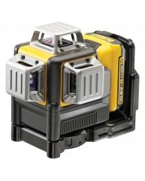 Лазерный нивелир (уровень) аккумуляторный DeWalt DCE089D1G / Зелёный луч фото