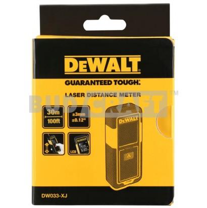 Лазерный противоударный дальномер DeWalt DW033 фото