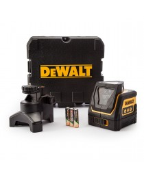 Лазерный нивелир (уровень) DeWalt DW0811 / В комплекте с мини-штативом фото
