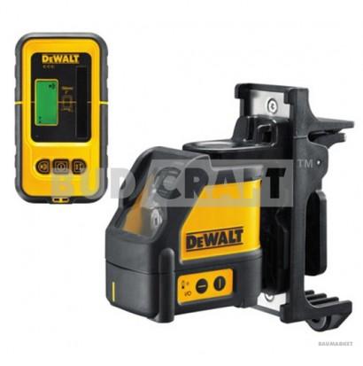 Лазерный нивелир (уровень) DeWalt DW088KD / В комплекте с детектором луча DeWalt DE0892