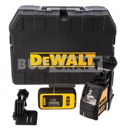 Лазерный нивелир (уровень) DeWalt DW088KD / В комплекте с детектором луча DeWalt DE0892 фото