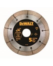 Диск алмазный сегментированный (сдвоенный) DeWALT DT3758 / Для штробореза DeWALT DWE46105