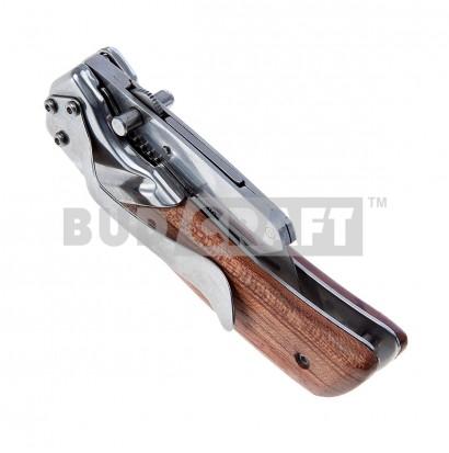 Нож складной с деревянной рукояткой Stanley / 19 мм фото