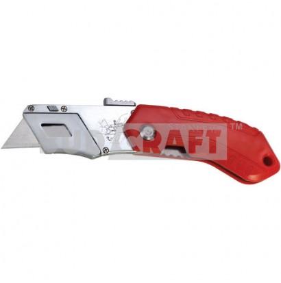 Нож складной с автовозвратом лезвия Stanley / 160 мм / 19 мм