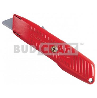 Нож с выдвижным лезвием и возвратной пружиной Stanley / 155 мм / 19 мм