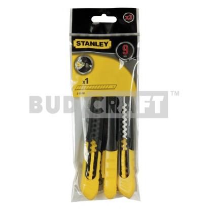Нож Stanley DynaGrip SM / 130 мм / 9 мм / 3 шт