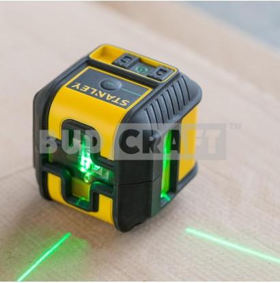 Лазерный нивелир (уровень) Stanley Cross 90° STHT77592-1 / Зеленый луч фото