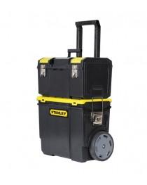Тележка инструментальная (ящик для инструментов) на колесах Stanley Mobile Workcenter 1-70-326 / 475 x 284 x 630 мм