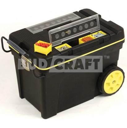Ящик для инструментов большого объема на колесах Stanley Pro Mobile Tool Chest 1-92-904 / 610 x 375 x 420 мм