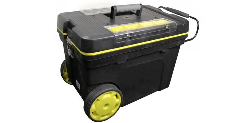 Типы конструкций ящиков для инструментов на колесах.