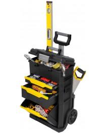 Тележка инструментальная (ящик для инструментов) на колесах Stanley Modular Rolling Workshop STST1-70344 / 778 x 488 x 347 мм фото