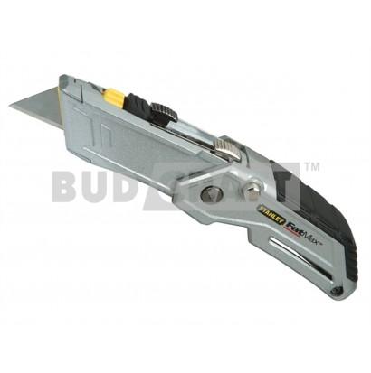 Нож с двумя выдвижными лезвиями Stanley Folding Twin-blade / 180 мм / 19 мм