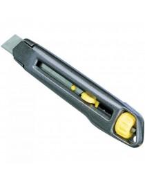 Нож металлический с 18 мм лезвием Stanley Interlock 0-10-018 / 165 мм