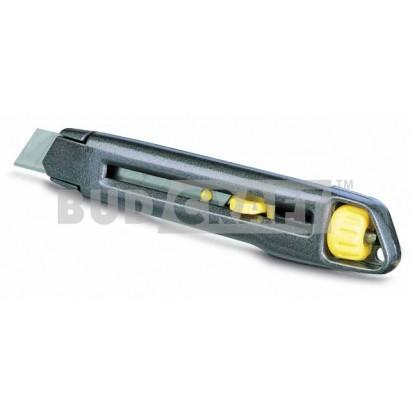 Нож металлический с 18 мм лезвием Stanley Interlock 0-10-018 / 165 мм фото