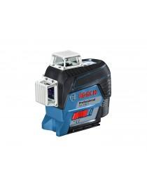 Аккумуляторный лазерный нивелир (уровень) Bosch GLL 3-80 C (AA) Professional / 0601063R00 / В L-BOXX