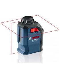 Лазерный нивелир (уровень) Bosch GLL 2-20 Professional / В комплекте с кронштейном BM3 / 0601063J00