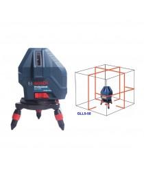 Лазерный нивелир Bosch GLL 5-50 Professional / В комплекте с мини штативом / 0601063N00