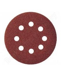 Круг шлифовальный (наждачный) 125-P80 / Ø125 мм x 5 шт. фото