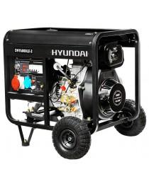 Дизельный генератор Hyundai DHY 6000LE-3 фото