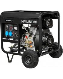 Дизельный генератор Hyundai DHY 8000LE фото