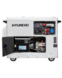 Дизельный генератор Hyundai DHY 8000SE-3 фото