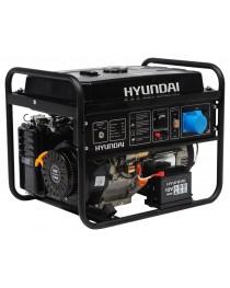 Бензиновый генератор Hyundai HHY 7010FE / 5500 Вт фото