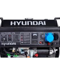Бензиновый генератор Hyundai HHY 7010FE ATS / 5500 Вт фото