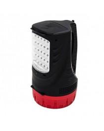 Фонарь аккумуляторный Intertool LB-0102 / 1 LED 5W + 25 LED фото