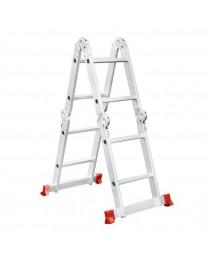 Многофункциональная лестница Intertool LT-0028 / 4 х 2 / 2, 5 м фото