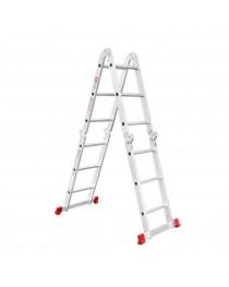 Многофункциональная лестница Intertool LT-0030 / 4 х 3 / 3, 7 м фото