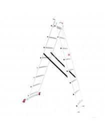 Универсальная лестница Intertool LT-0208 / 2 х 8 / 3, 7 м фото