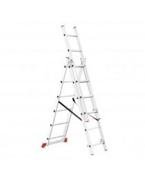 Многофункциональная лестница Intertool LT-0306 / 3 x 6 / 3, 4 м фото