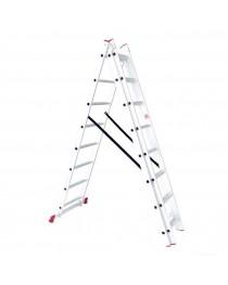Универсальная лестница Intertool LT-0308 / 3 х 8 / 5, 1 м фото