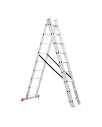 Универсальная лестница Intertool LT-0309 / 3 х 9 / 5, 9 м фото