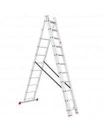 Универсальная лестница Intertool LT-0311 / 3 х 11 / 7, 3 м фото