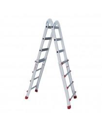 Телескопическая лестница Intertool LT-2044 / 4 x 4 / 4 м фото