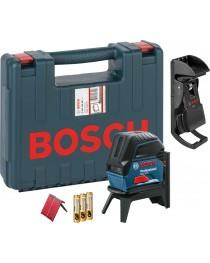 Лазерный нивелир (уровень) с функцией отвеса Bosch GCL 2-15 Professional / В комплекте со штативом RM1. В кейсе / 0601066E02 фото
