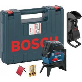 Лазерный нивелир (уровень) с функцией отвеса Bosch GCL 2-15 Professional / В комплекте со штативом RM1. В кейсе / 0601066E02