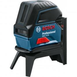 Лазерный нивелир (уровень) с функцией отвеса Bosch GCL 2-15 Professional / В комплекте со штативом RM1 / 0601066E00