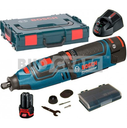 Гравер Bosch GRO 10, 8V-LI Professional / L-Boxx EU / 06019C5001 фото