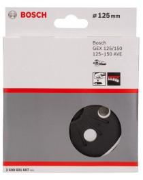 Тарелка шлифовальная Bosch (для GEX125-150 AVE Prof) 125мм фото
