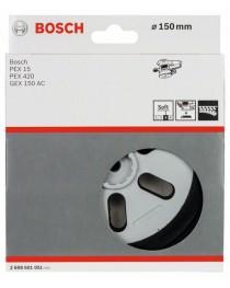 Тарелка шлифовальная, мягкая Bosch PEX 150мм фото