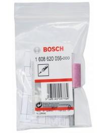Шарошка корундовая цилиндрическая, средней твердости Bosch 20х25мм, хвостовик 6мм фото