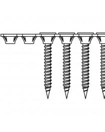 Набор шурупов, лента, Bosch 50мм S-F 3, 9x25мм (1000шт) фото