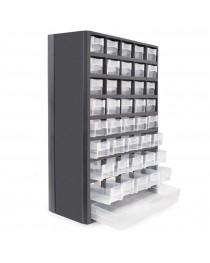 Органайзер для принадлежностей Intertool BX-4012 (310 x 138 x 490мм) пластмасс, 40 отделений, вертикальный фото