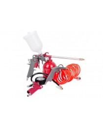 Набор покрасочный пневматический Intertool PT-1501 (5ед) фото
