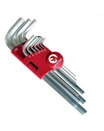 Набор ключей удлиненных шестигранных Intertool HT-0602 фото
