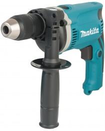 Дрель ударная Makita HP1631K + набор D-46202 фото