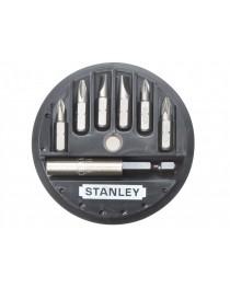 Набор бит Stanley + универсальный держатель (7 шт) 1-68-737 фото
